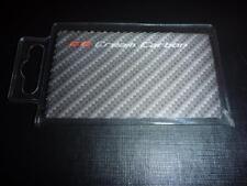 2 x Carbon Fibre Effect Microfibre Microfiber Helmet Visor Cleaner with PVC Case