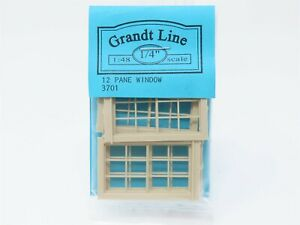 O 1/48 Scale Grandt Line #3701 12 Pane Window