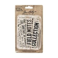 Tim Holtz Idea-ology QUOTE CHIPS Paperie TH93563  2017