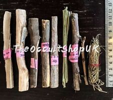 FIRE RITUAL WOOD HAVAN STICKS SET NAV GRAHA PUJA WICCA HERBS WITCH SPELLS ALTAR