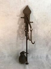 "Antique Cast Iron Weight Apparatus (21"" Long)"