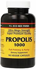 Propolis 1000, 90 Capsules Ultra Strength - Y.S Eco Organic Bee Farms