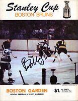 April 17, 1969 Boston Bruins Vs Montreal Canadiens Playoff Program Game 3