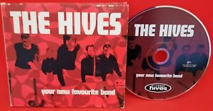 THE HIVES - YOUR NEW FAVOURITE BAND CD - 2002 DIGIPAK BHR 2002 - VG Condition
