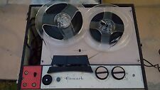Vintage Gemark Reel to Reel two track monophonic two speed tape recorder system