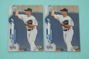 JOSH SMITH LOT OF 2 2020 TOPPS PRO DEBUT #PD-77 NEW YORK YANKEES