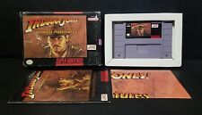 Indiana Jones' Greatest Adventures (Super Nintendo) Complete Boxed CIB