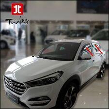 Set 4 Deflettori Aria Antiturbo Oscurati Hyundai Tucson dal 2015 antipioggia