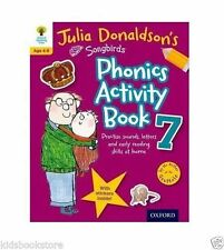 Oxford Reading Tree Songbird: Julia Donaldson SONGBIRDS PHONICS ACTIVITY Book 7