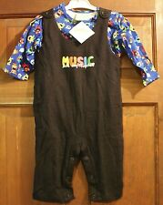SnoPea Two-Piece Let's Sing Together Infant Boys Outfit - 18M