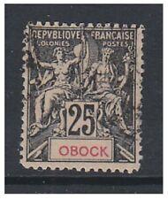 Côte de Somalie - 1892, 25c obock stamp-G / U-SG 57