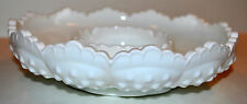 Fenton Milk Glass Hobnail Ashtray / Candy Dish / Candle Holder