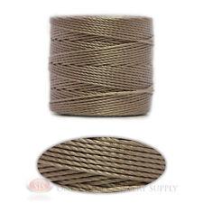 Silver 77 Yds. Super-Lon #18 Beading Crafting Stringing Crochet Cord