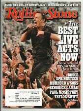 ROLLING STONE #1189 2013 BRUCE SPRINGSTEEN, MUMFORD & SONS, TAYLOR SWIFT