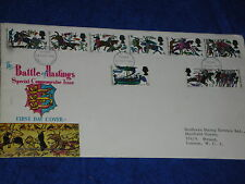 14 OCTOBER 1966 the Battle of Hastings STAMPS first day GREAT BRITAIN sussex UK