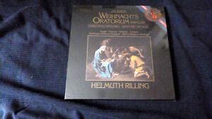 3LP Weihnachtsoratorium Helmuth Rilling 1984 Stuttgart Christmas Oratorio SEALED