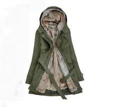 Fashion Womens Thicken Winter Coat Hood Parka Warm Overcoat Long Jacket Outwear