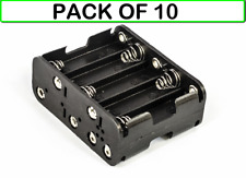 (10-PACK) BH3103SL BATTERY HOLDER FOR 10 x AA-CELL (WITH SOLDER LUG TERMINALS)