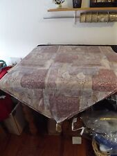 """JC PENNEY PURPLE SCARF VALANCE TASSELS 41W X 148"""" 3 PANELS LISTED SEPARATELY"""