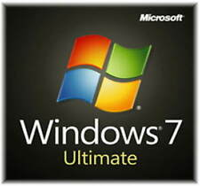 Window 7 ULTIMATE 32 or 64bit Licence Key on original OEM PC