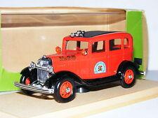 Eligor 1214 1932 Ford V8 Fordor Los Angeles Fire Department 1/43