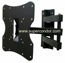 Tilt Swivel LCD LED Plasma Flat Panel TV Wall Mount Bracket hanging 17 - 37""