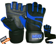 Half Finger Gym Gloves Workout Sports Weight Lifting Traning Exercise & Fitness