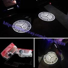 Car Led light Door Laser Projector Logo For Mercedes-Benz C200 C300 E350 2013-16