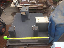"""*s/h quote*** COLLINS MICRO FLAT GRANITE SURFACE PLATE LARGE SIZE 42"""" 36"""" 6"""""""