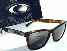 NEW Oakley Frogskins LX Dark Tortoise Sunglass 2043-05 Metal Hinge Elite $AVE!