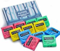 Box of 12 - Putote Artist Kneaded Rubber Art Eraser - 12PC PVC Free Soft Pliable