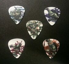 Teenage Mutant Ninja Turtles Guitar Picks Gift Present TMNT Comic Memorabilia