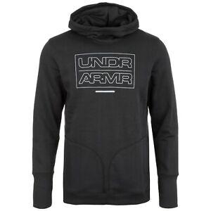 UNDER ARMOUR mens Hoodie hooded sweatshirt jumper top fleece  S M L XL BLACK