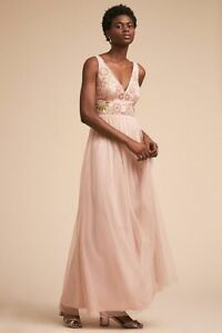$240  Anthropologie BHLDN HIBISCUS DRESS new   size 6 new nwt
