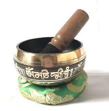 Tibetan Black Color Singing Bowl