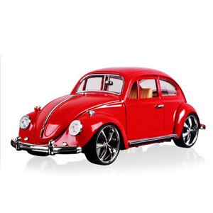1/18 Classic VW Beetle Superior 1967 Model Car Diecast Vehicle Collection Red