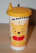 Tupperware Disney Winnie The Pooh  Big Bell Tumbler Sippy Sipper Seal 10 oz New