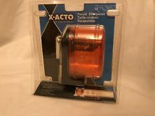 New X Acto School Pencil Sharpener Moderate Use Screw Mounted 1065