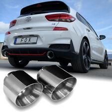 FOX Sportauspuff Endrohre Hyundai i30N Performance inkl.Fastback 2.0l je 1x114mm