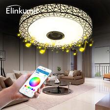 Musik LED Deckenlampe,Modern Nest Design Bluetooth Intelligente Dimmbar Leuchte