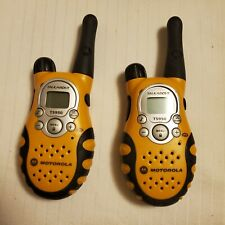 Motorola Talkabout T5950 Radios With Charging Dock (Two-Way) Great range
