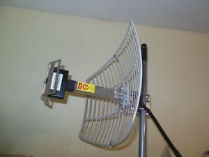 High Gain 17dBi 2.4G WIFI Wireless Grid Parabolic Antenna N male TDJ-2400SPD4