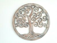 Tree of Life Wood Wall Art Hanging Sculpture 3 colors 40 CM/50 CM/60 CM
