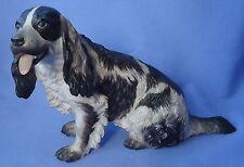"""1930 Liver Color English Setter Springer Spaniel Rosenthal Dog Germany 9"""""""