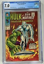 Tales to Astonish #93 CGC 7.0 FN/VF (Marvel 1967) 1ST SILVER SURFER OUTSIDE FF