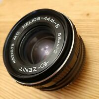 MINT Soviet, Bokeh Portrait Lens HELIOS 44m-6 2/58mm, M42. For Canon, Nikon,Sony