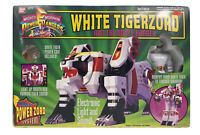 VNG The Mighty Morphine Power Rangers White Tigerzord And The White Ranger Set