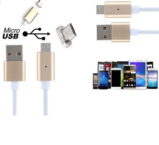 2.4 Amp Magnetic Adapter Data Cable Micro USB For Nexus / Nokia Lumia 920 1020