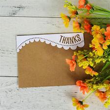 Greeting Words thank Metal Cutting Dies Stencil Scrapbook Paper Cards Hot UK