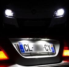 Kit éclairage ampoules à LED Veilleuses + Feux de plaque pour Renault Espace 3 4